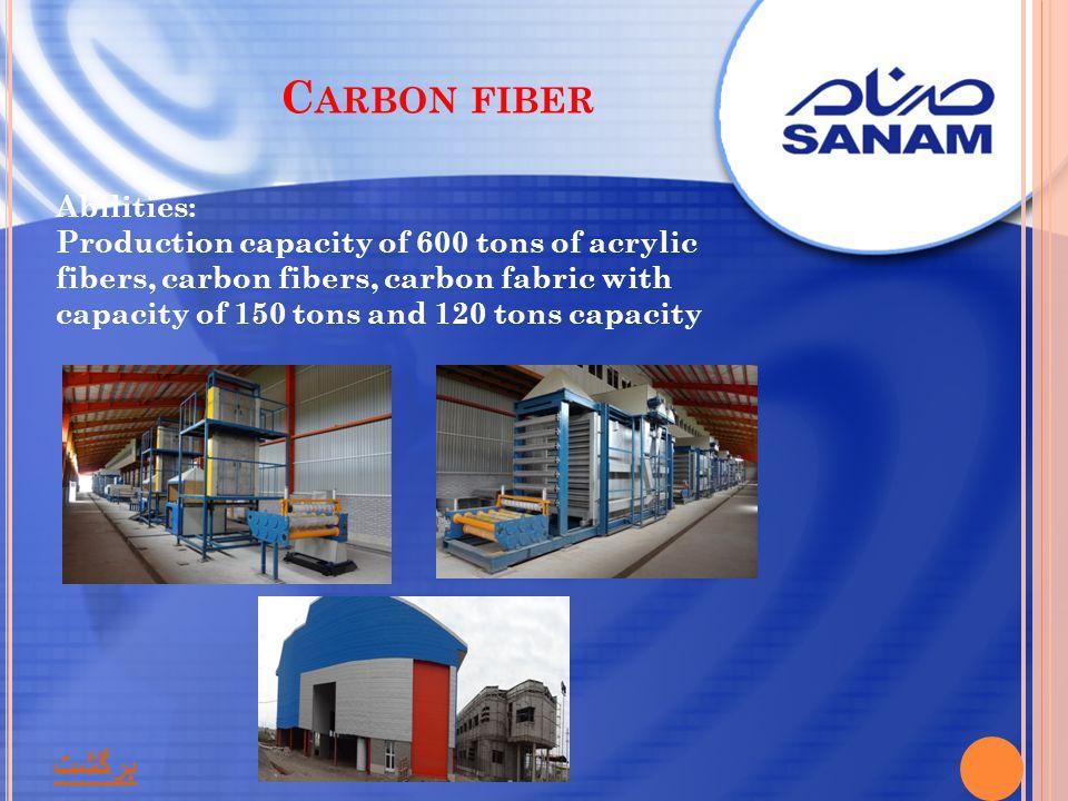 Carbon fiber برگشت Abilities: