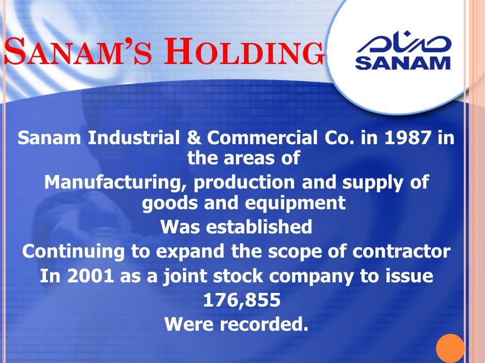 Sanam's Holding