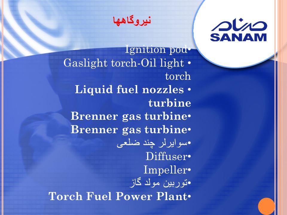 نیروگاهها Ignition pod Gaslight torch-Oil light torch