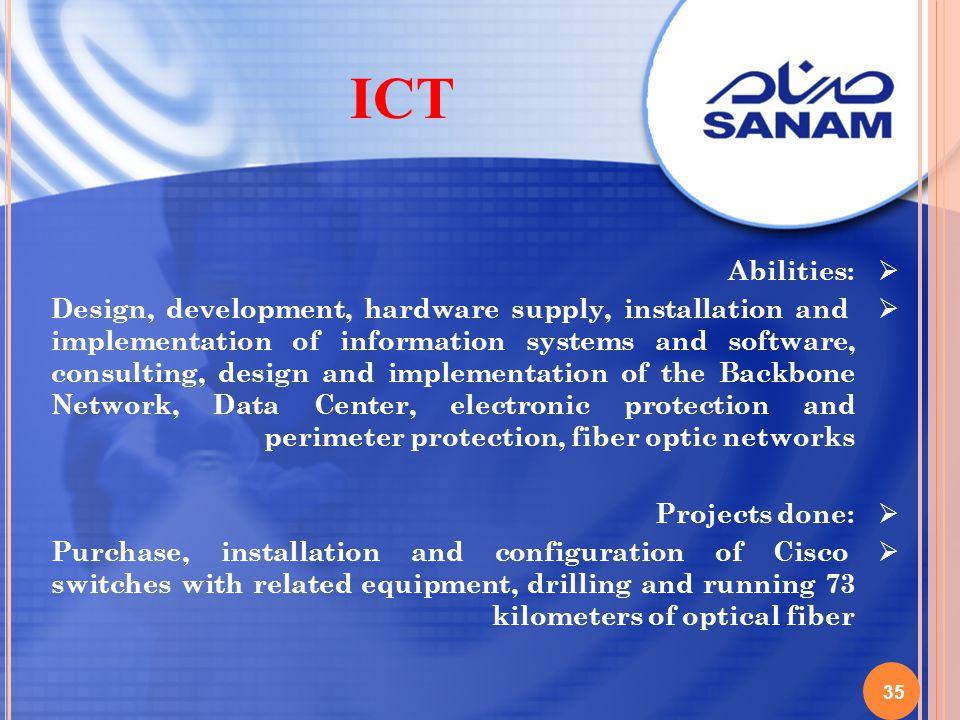 ICT Abilities: