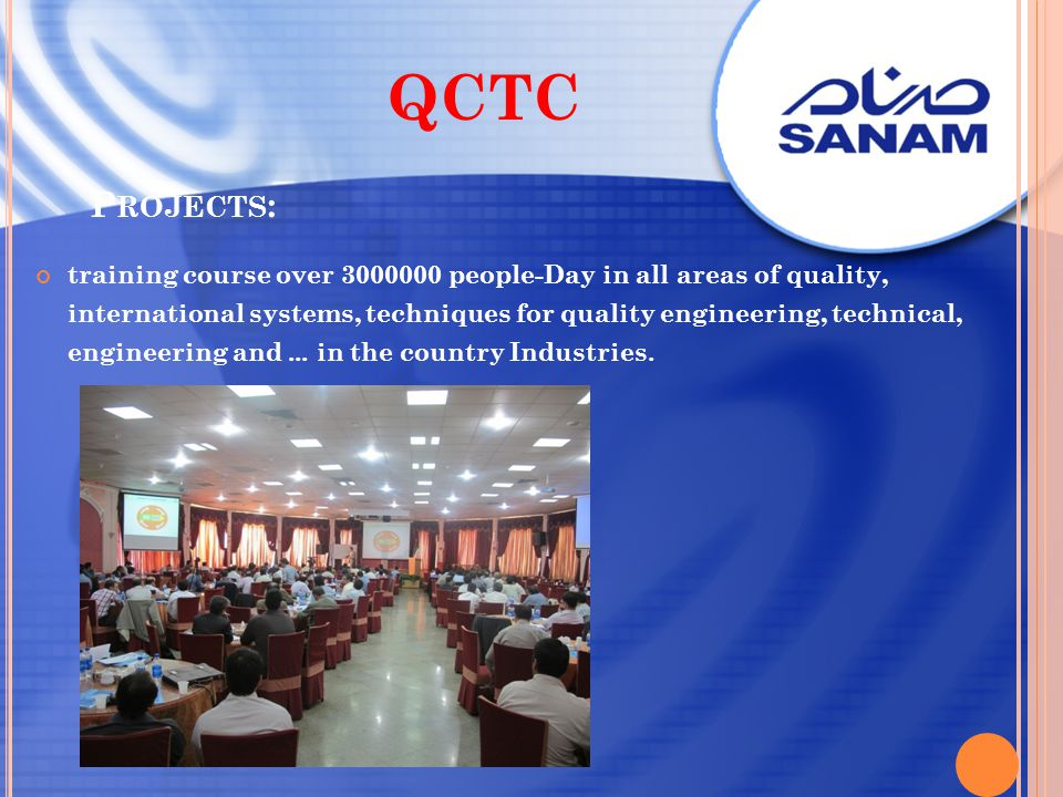 QCTC Projects: