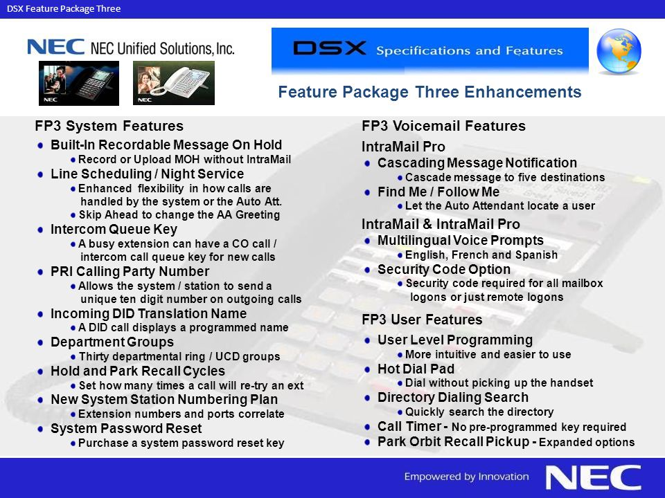 DSX Feature Package Three