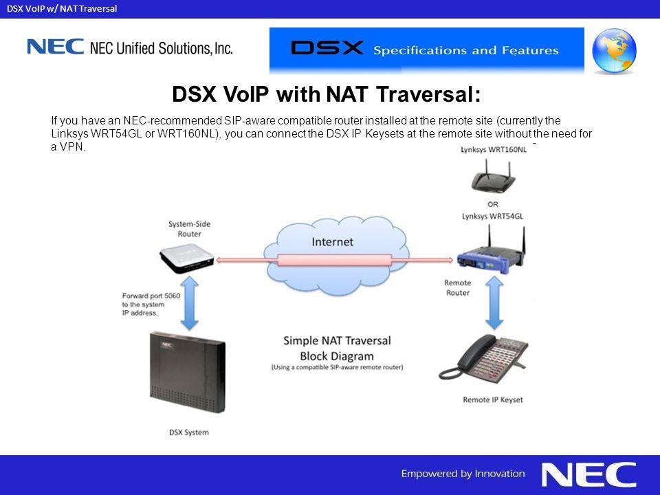 DSX VoIP w/ NAT Traversal