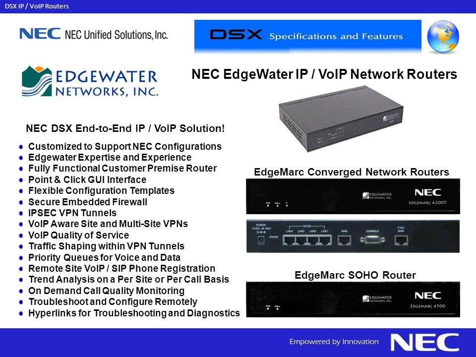 EdgeMarc Converged Network Routers