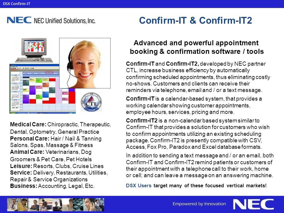 Confirm-IT & Confirm-IT2