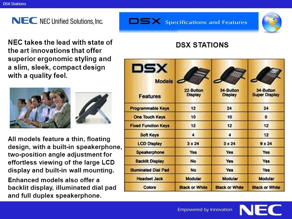 DSX STATIONS NEC takes the lead with state of