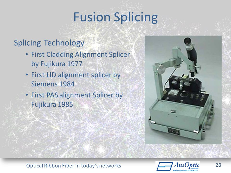 Fusion Splicing Splicing Technology