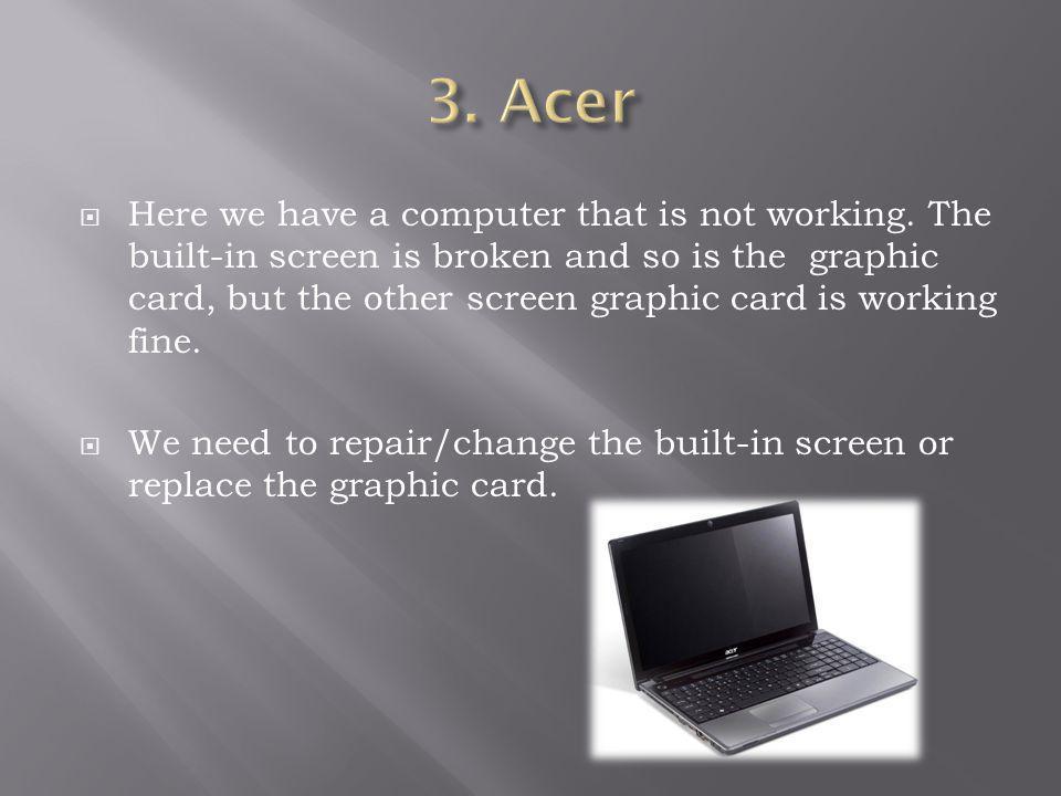 3. Acer