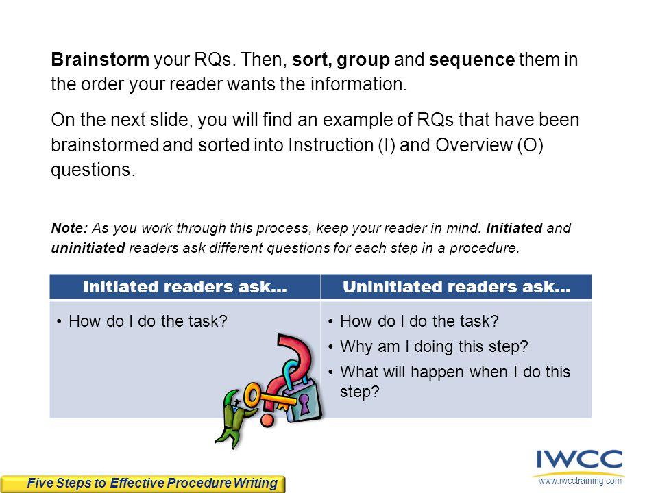 Uninitiated readers ask...