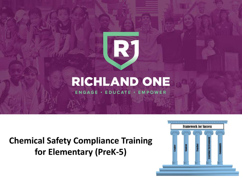 Chemical Safety Compliance Training for Elementary (PreK-5