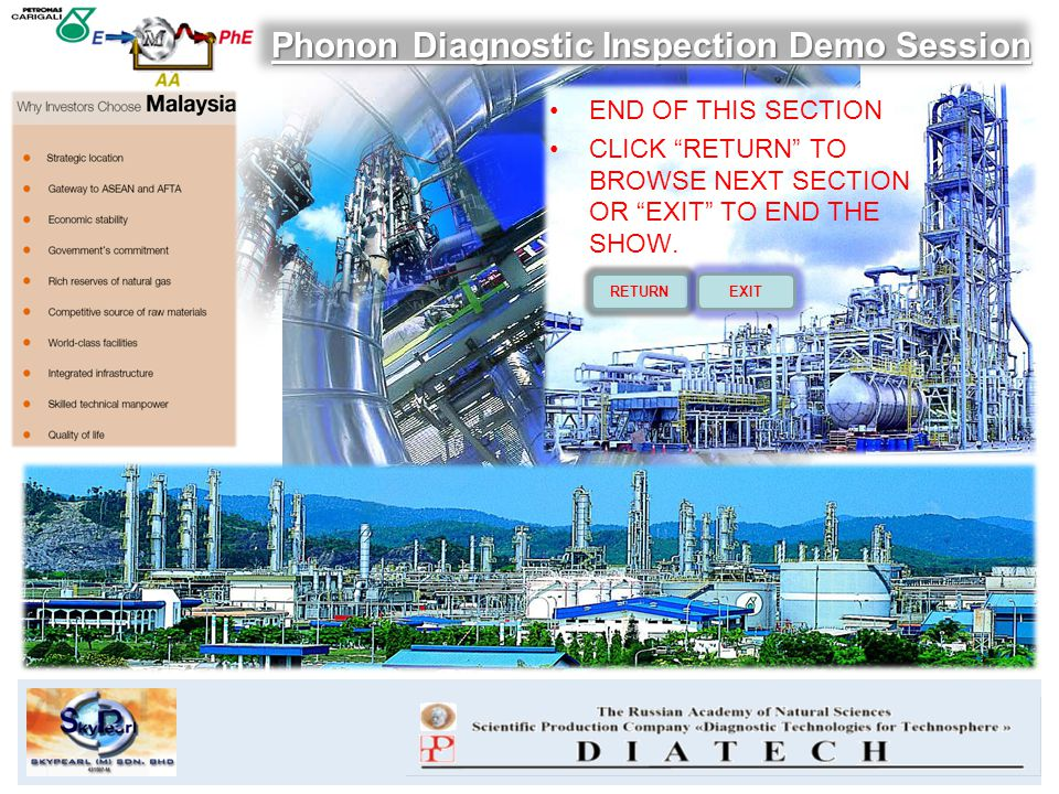 Phonon Diagnostic Inspection Demo Session