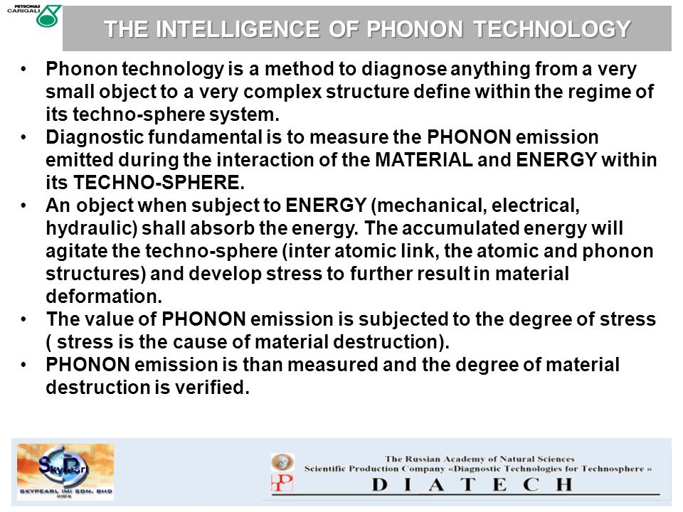 THE INTELLIGENCE OF PHONON TECHNOLOGY