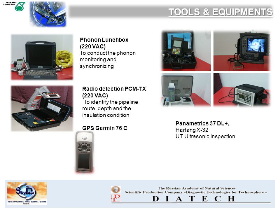 TOOLS & EQUIPMENTS Phonon Lunchbox (220 VAC)