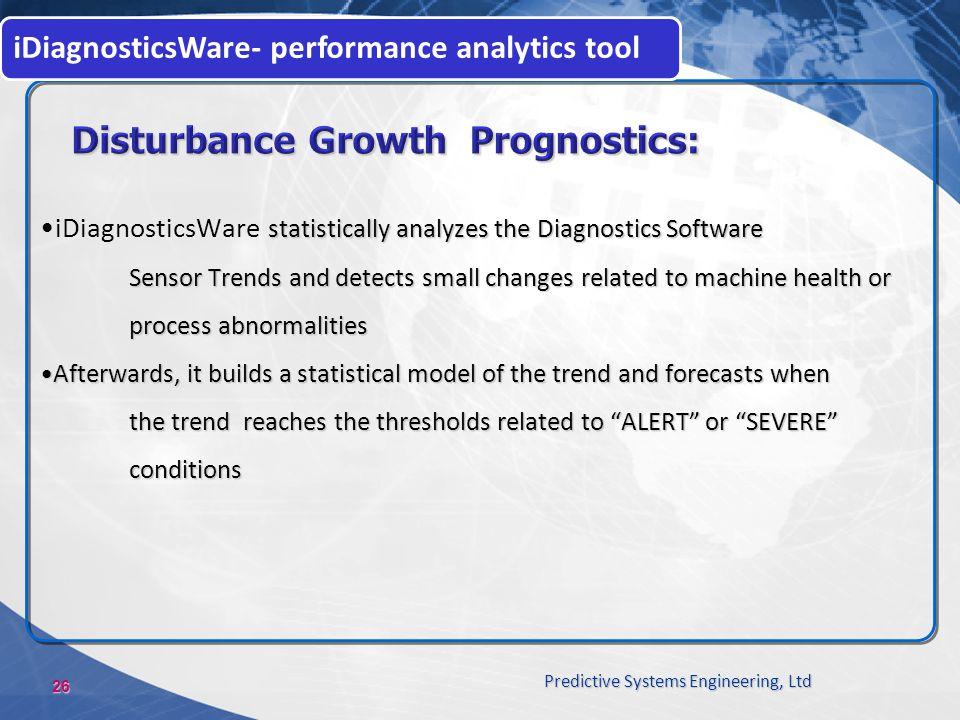 Disturbance Growth Prognostics: