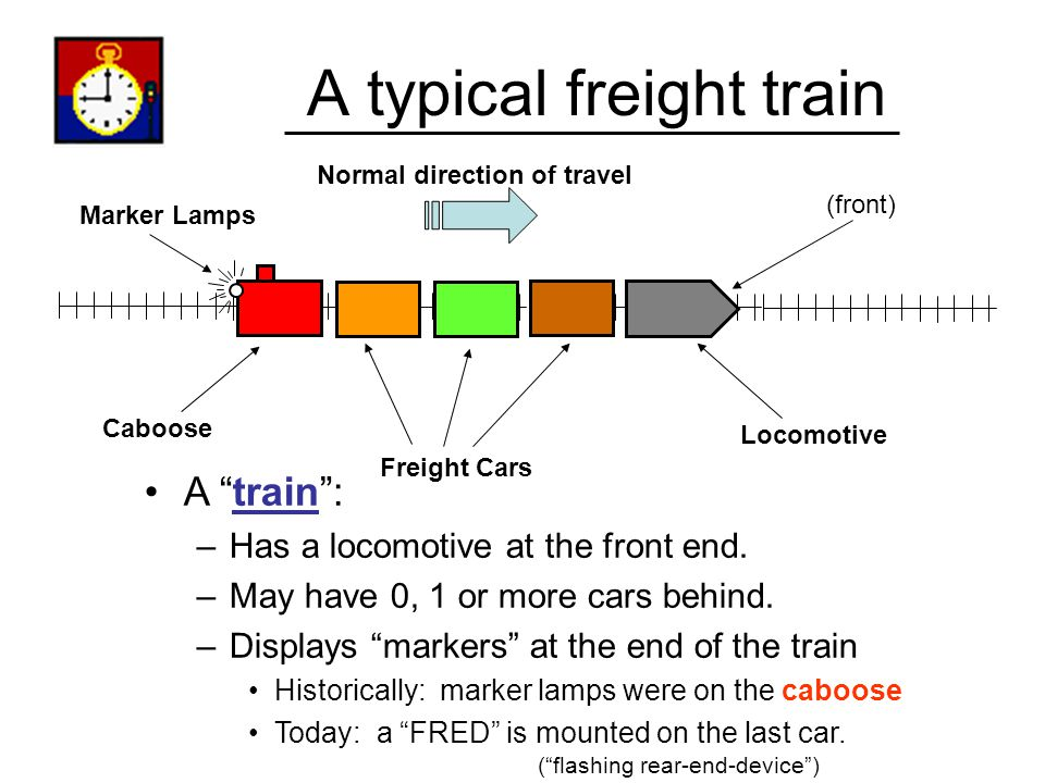 A typical freight train