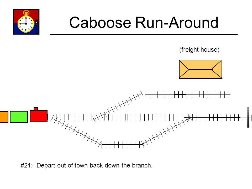 Caboose Run-Around (freight house)