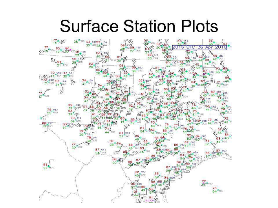 Surface Station Plots