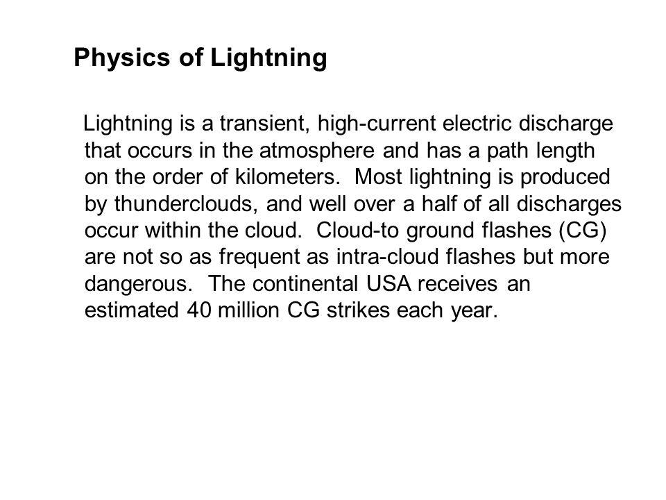 Physics of Lightning