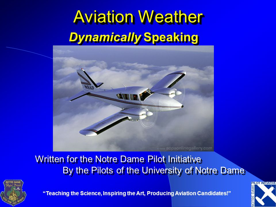 Aviation Weather Dynamically Speaking