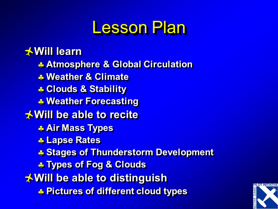 Lesson Plan Will learn Will be able to recite