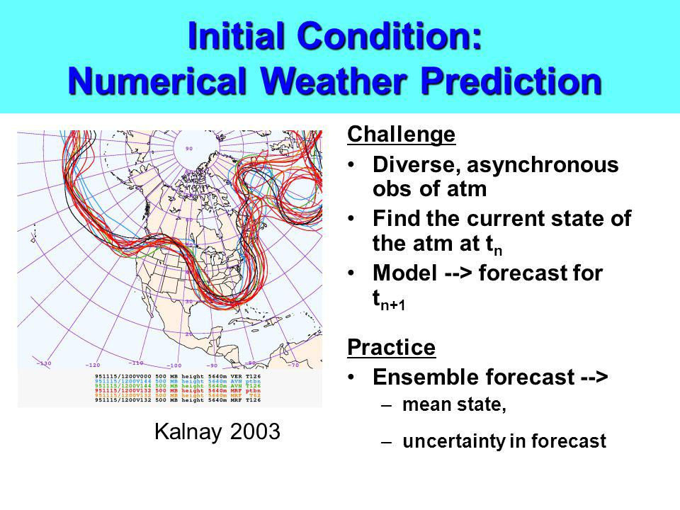 Initial Condition: Numerical Weather Prediction