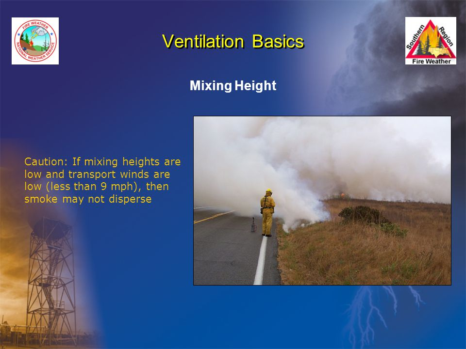 Ventilation Basics Mixing Height