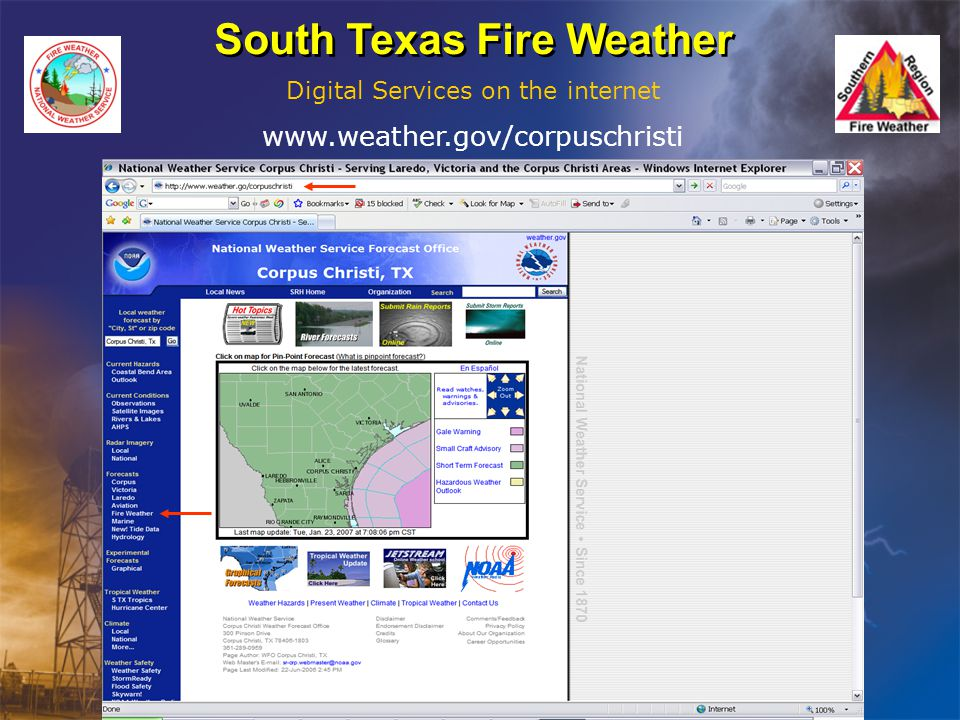 South Texas Fire Weather