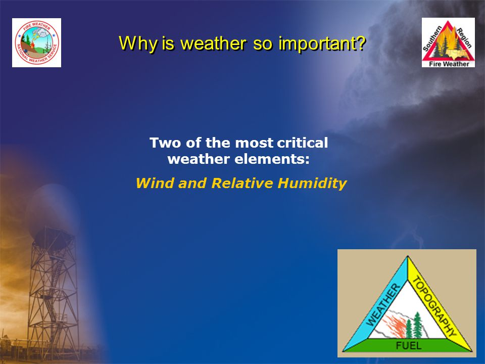 Why is weather so important