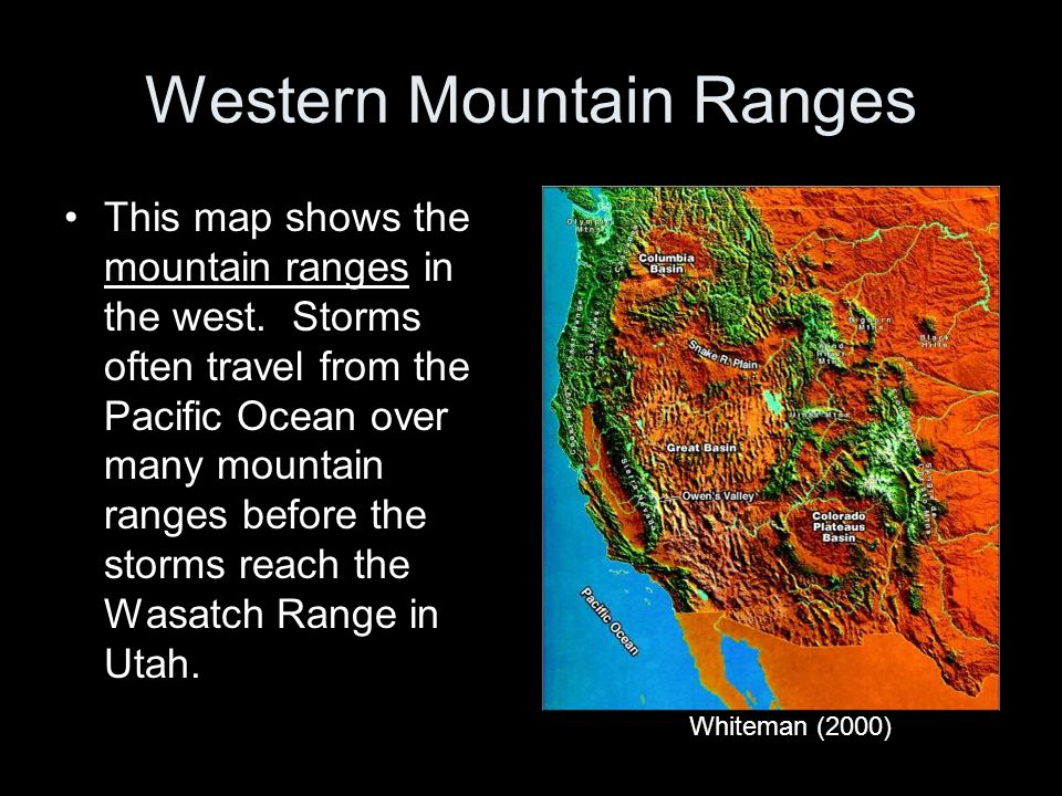 Western Mountain Ranges