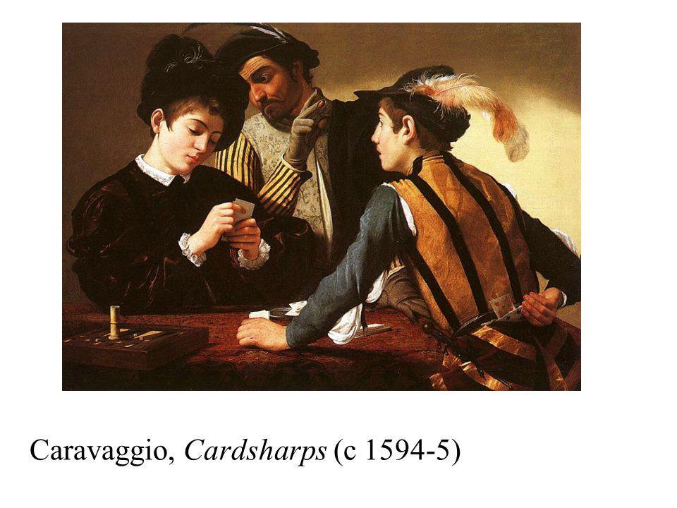 Caravaggio, Cardsharps (c 1594-5)