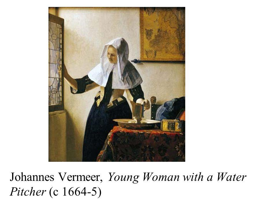 Johannes Vermeer, Young Woman with a Water Pitcher (c 1664-5)