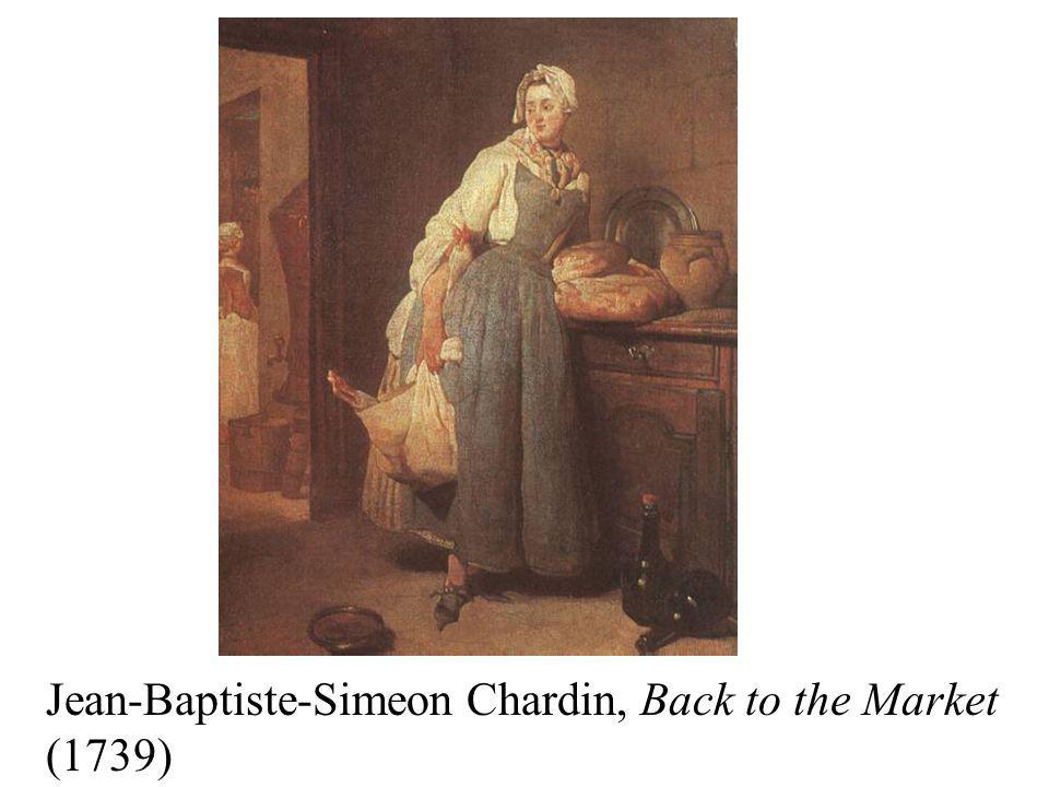 Jean-Baptiste-Simeon Chardin, Back to the Market (1739)