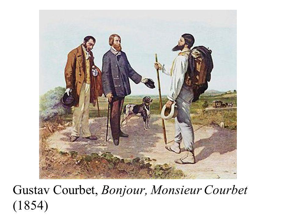 Gustav Courbet, Bonjour, Monsieur Courbet (1854)