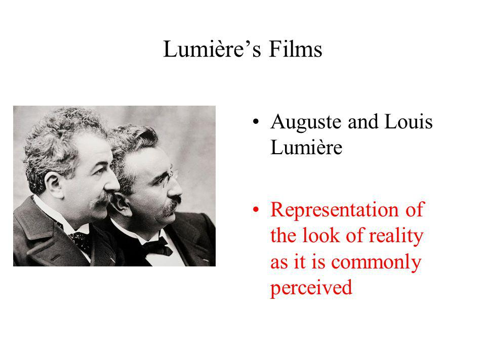 Lumière's Films Auguste and Louis Lumière