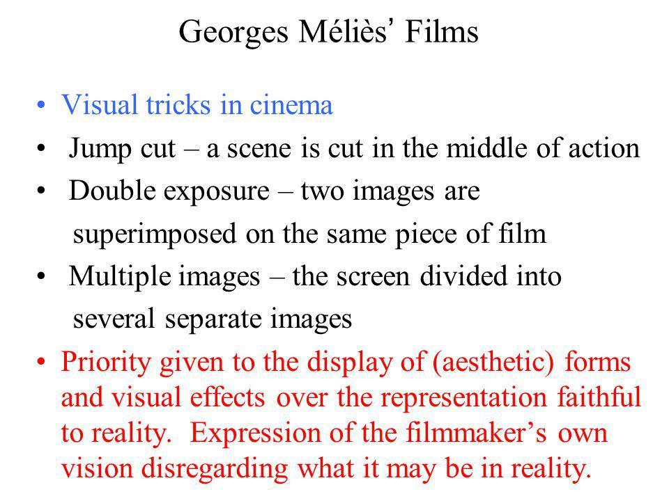Georges Méliès' Films Visual tricks in cinema