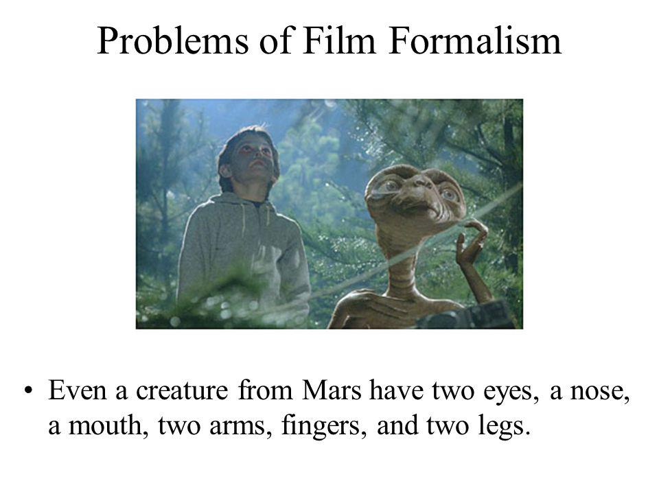 Problems of Film Formalism