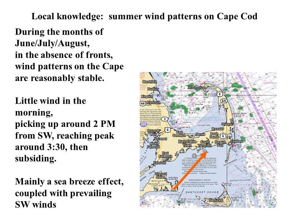 Local knowledge: summer wind patterns on Cape Cod