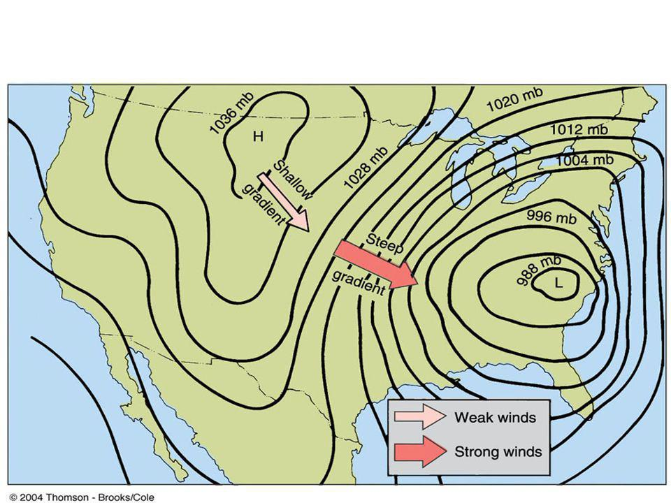 Pressure Gradient and Winds
