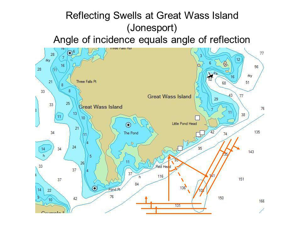 Reflecting Swells at Great Wass Island (Jonesport)