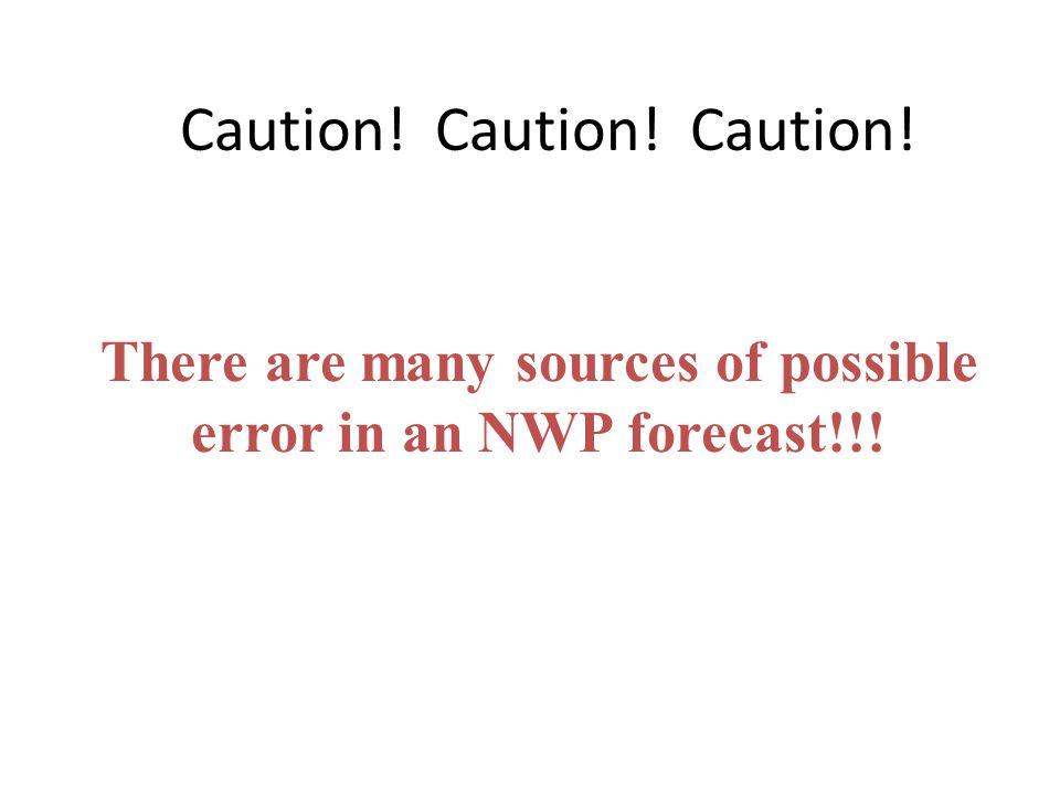 Caution! Caution! Caution!