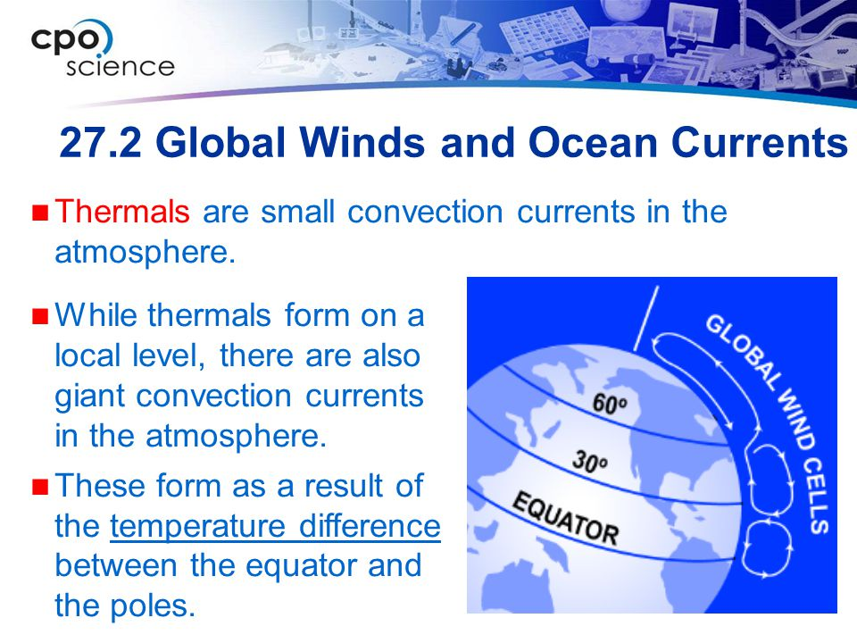 27.2 Global Winds and Ocean Currents