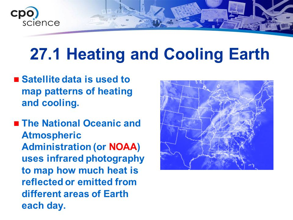 27.1 Heating and Cooling Earth