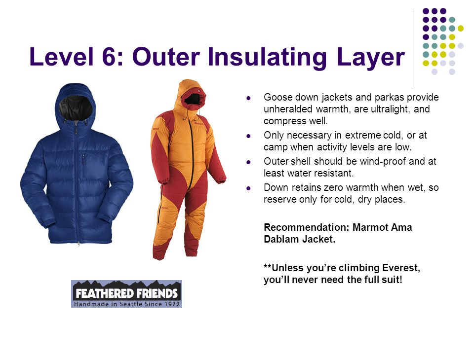 Level 6: Outer Insulating Layer