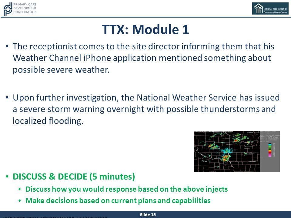 TTX: Module 1