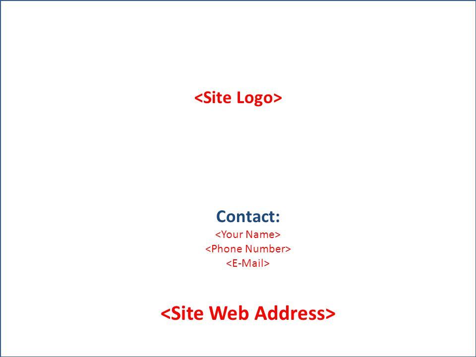<Site Web Address>