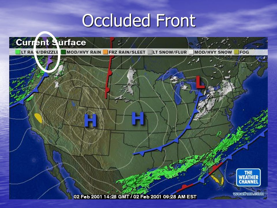 Occluded Front