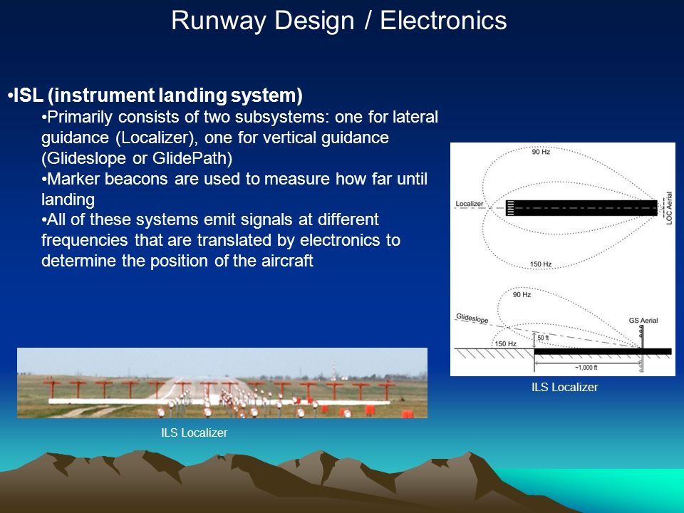 Runway Design / Electronics