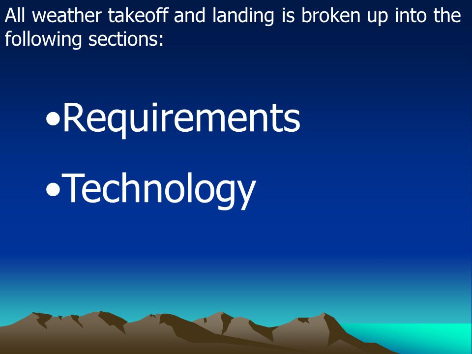 Requirements Technology
