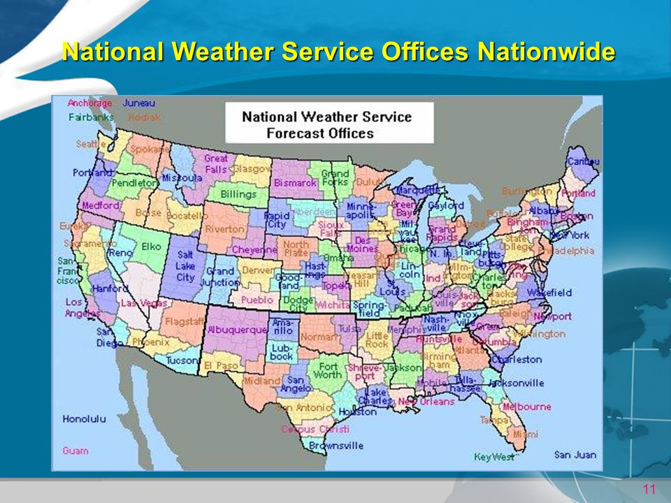 National Weather Service Offices Nationwide
