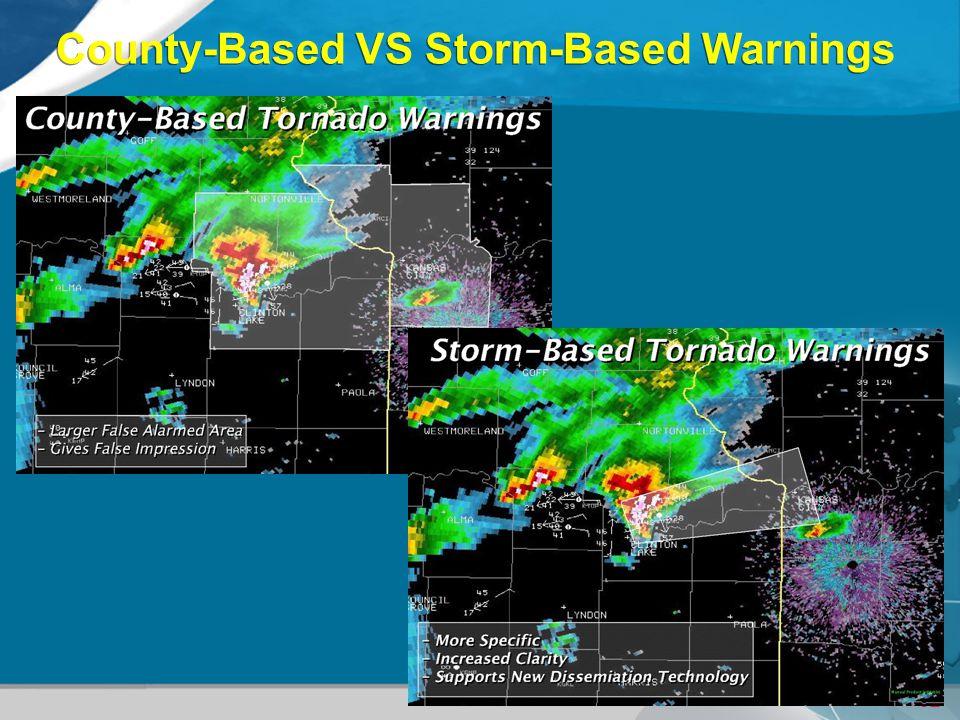 County-Based VS Storm-Based Warnings
